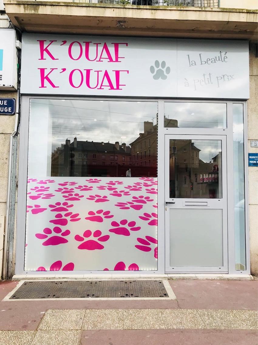salon de toilettage K'OUAF K'OUAF à Caen